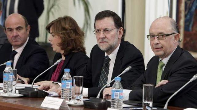 Guindos-Saenz-Santamaria-Rajoy-Montoro_ECDIMA20140425_0011_20