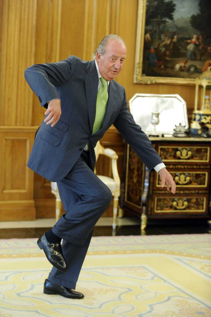 Rey Juan Carlos I tropezon 3